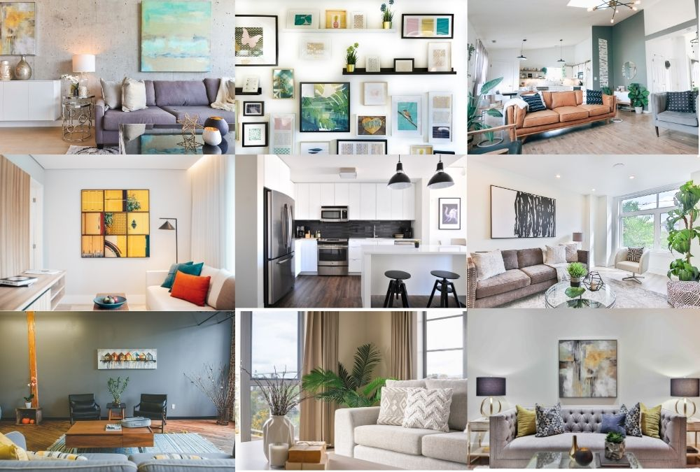 30 Free Home Decor Zoom Backgrounds You'll Love