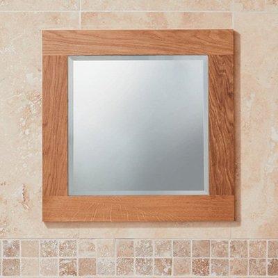 Bathroom compact mirror