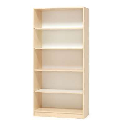 Bookcase THEO, 1000x300x2100 mm, birch