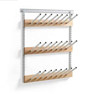 Boot hanging rack ROSA, L 1000 mm, 12 pairs