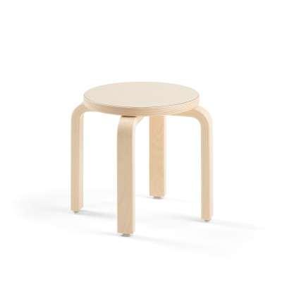 Children's stool DANTE, birch laminate, H 310 mm