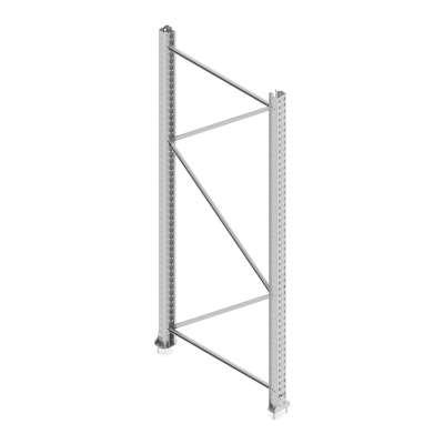 End frame ULTIMATE, 2500x1100 mm, 9500 kg
