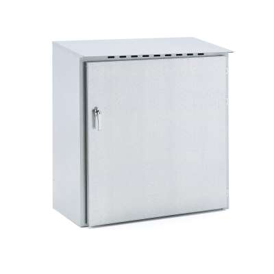 Gas cylinder storage cabinet for outdoor use, 1050x960x476 mm