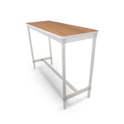 High dining table ENVIRO, 1800x500x1010 mm, white