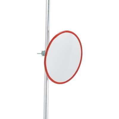 Indoor and outdoor industrial mirror, acrylic, Ø 500 mm