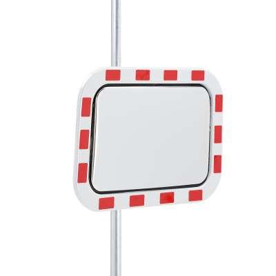 Industrial warning mirror, 400x600mm