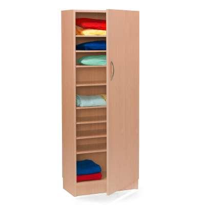 Linen cabinet, 630x340x1535 mm, beech