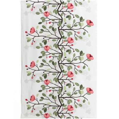 Noise absorbing wall tapestry OFELIA, 1400x2200 mm, green and red