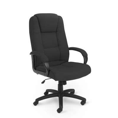 Office chair CHURT, charcoal fabric