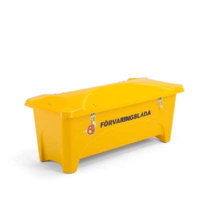 Outdoor storage box, 1760x750x745 mm, 475 L, yellow