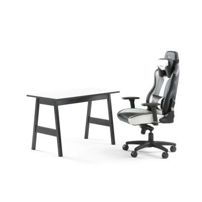 Package deal: desk NOMAD + gaming chair LINCOLN
