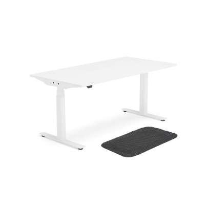 Package deal: standing desk MODULUS + standing desk mat