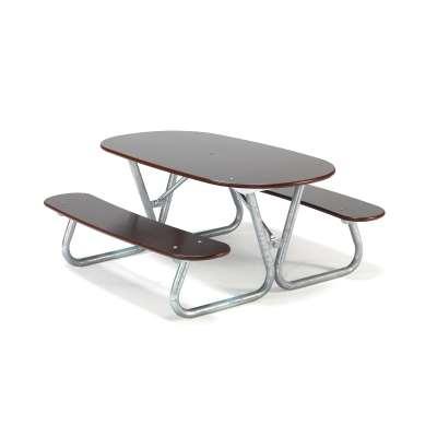 Picnic table BLABAR, 1400x1400x650 mm
