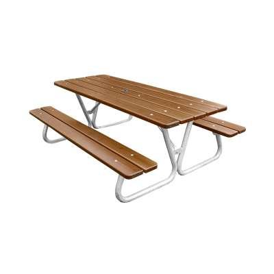 Picnic table HALLON, 1800x600x1300 mm