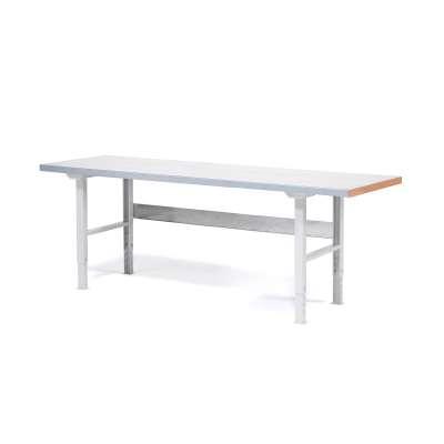 Professional workbench SOLID, 500 kg load, 1500x800 mm, HPL