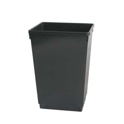 Recycling bin, 500x370x280 mm, 48 L, black