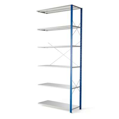 Shelving MIX, add-on section, 3000x1300x500 mm