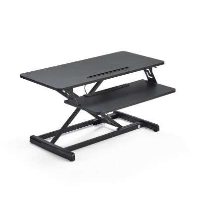 Standing desk converter READY, 880x400 mm, black