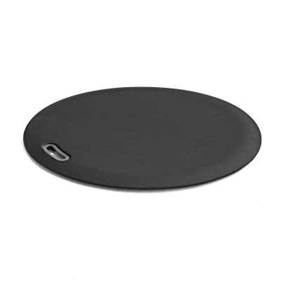 Standing desk mat SPOT, Ø 600 mm, black