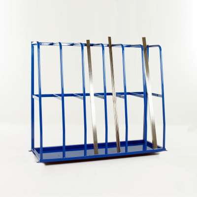 Vertical storage rack, 6 sections, 1500x1800x600 mm