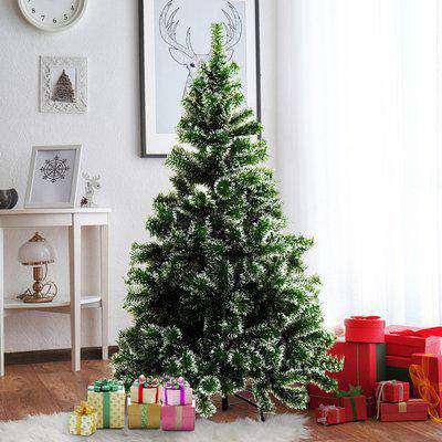 HOMCOM Artificial Christmas Tree, 1.5M-Green