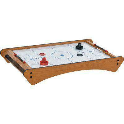 HOMCOM Mini Air Hockey Tabletop Game w/ 2 Pucks Pushers Fan Play Board Scoreboard Markings Portable Family Game Children Adults 8 Years+