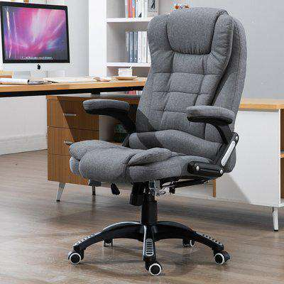 Vinsetto Massage 130° Reclining Chair 130° Reclining Chair Relax Head