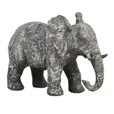 Elephant Ornament Old Concrete