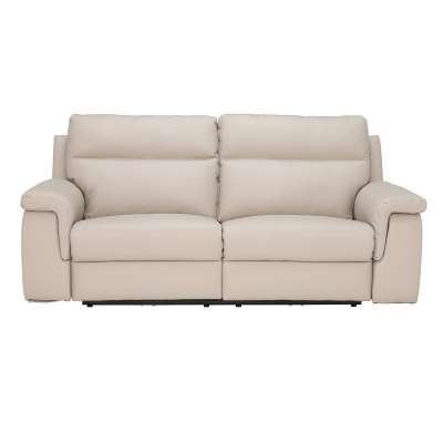 Fulton 3 Seater Leather Recliner Sofa
