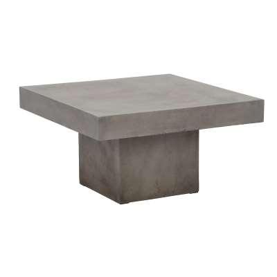 Geradis Campos Large Coffee Table, Concrete