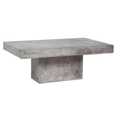 Geradis Lista Coffee Table, Concrete