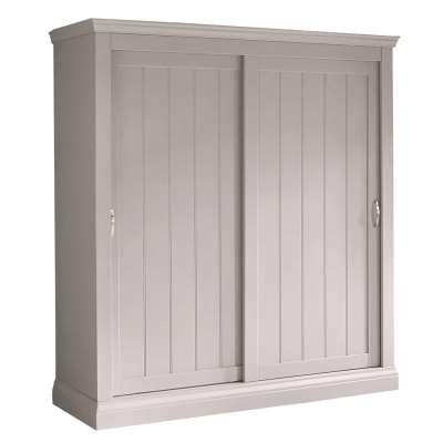 Helmsley 2 Door Sliding Wardrobe, Urban Grey