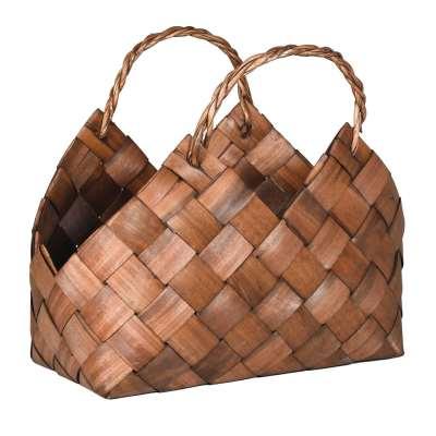 Large Woven Magazine Basket