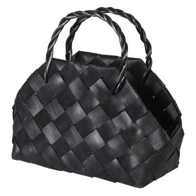Black Magazine Basket