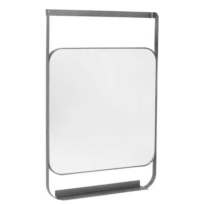 Morandi Hanging Mirror With Shelf