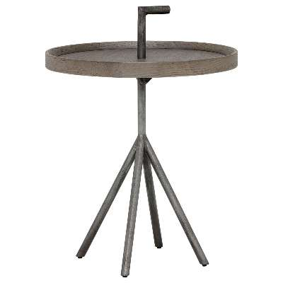 Pamber 40cm Round Side Table