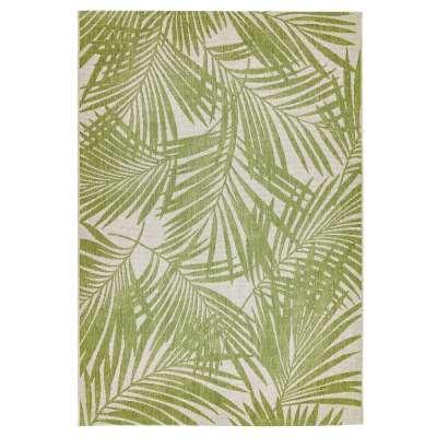 Patio Outdoor Green Palm Rug