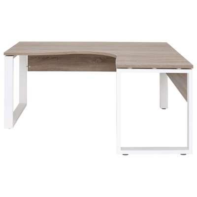 Pembridge Corner Desk, Truffle Oak