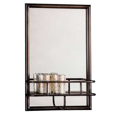 Rectangle Mirror with Shelf