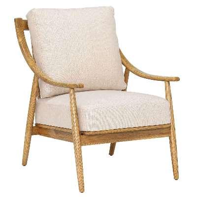 Runa Armchair, Cream
