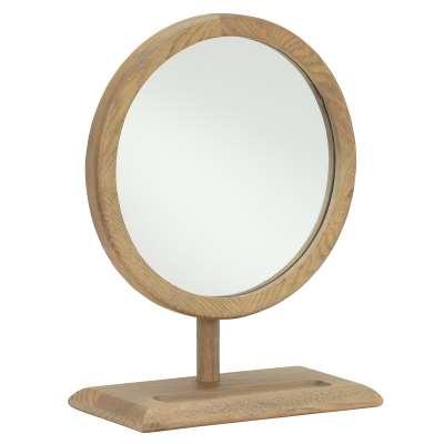 Runswick Dressing Table Mirror, Oak