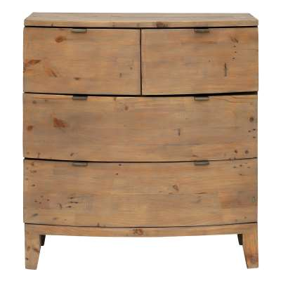 Rye Reclaimed Wood 8 Drawer Dresser Cabinet