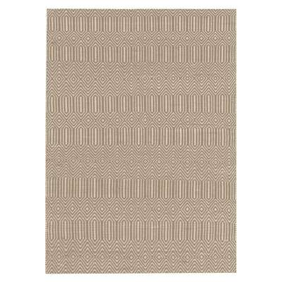 Sloan Cotton and Wool Rug, Taupe