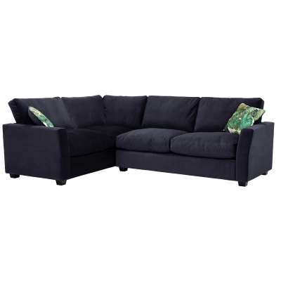 Taylor Medium Left Hand Facing Corner Sofa, Sunningdale Midnight Blue
