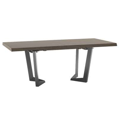 Vinci Extending Dining Table, Silver Birch