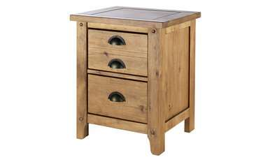 Wild Coast 2 Drawer Bedside Table