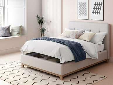 Virage Ottoman Upholstered Bed Frame