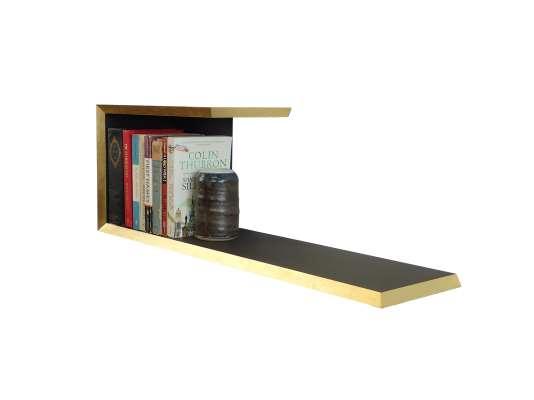 Gilded Edge Bookshelf � Gold
