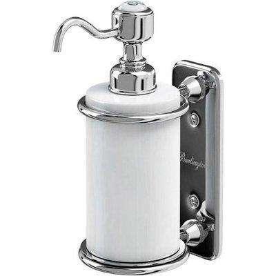 Burlington Chrome Single Soap Dispenser