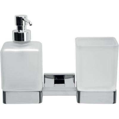 Inda Lea Tumbler, Soap Dispenser and Holder